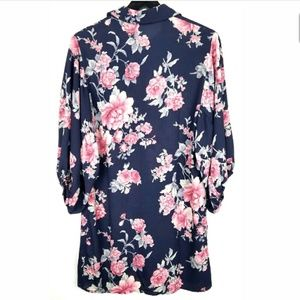 Collective Concepts Dress Button Down Floral XS